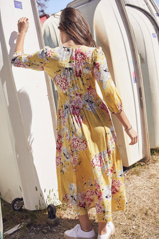 Harper Dress - Sunshine
