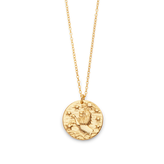 Lion Wild Necklace in Gold