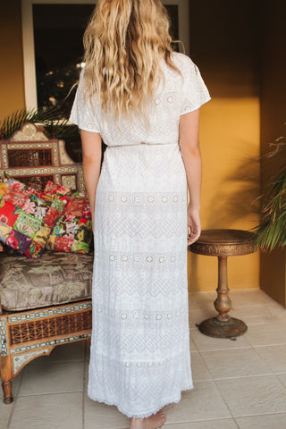 Maldives Maxi - White