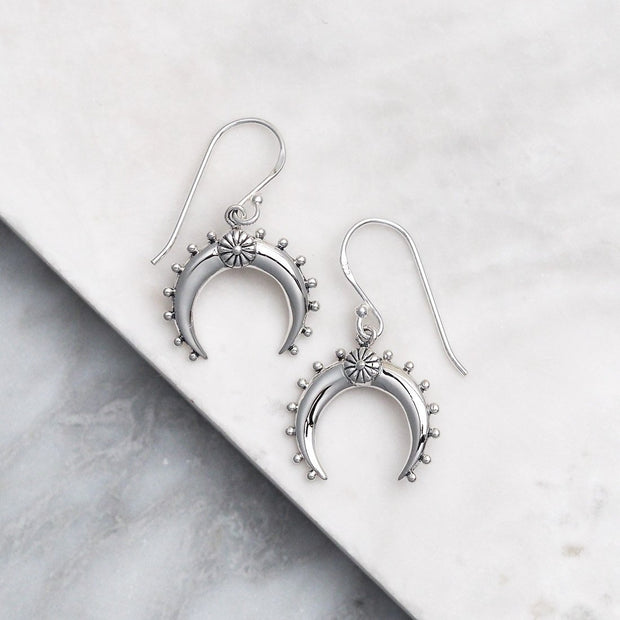 E562 - Moon Flower Earrings