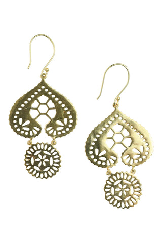Mayar Earrings- Gold
