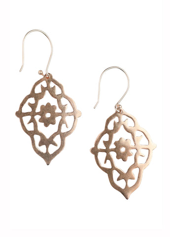 Eilie Earrings- Rose Gold