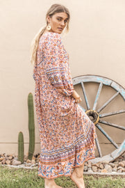 Primrose Maxi Dress - Autumn