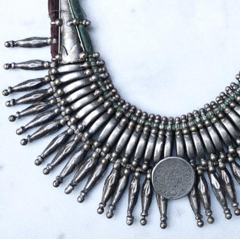 Vintage Tharu Tribe Necklace