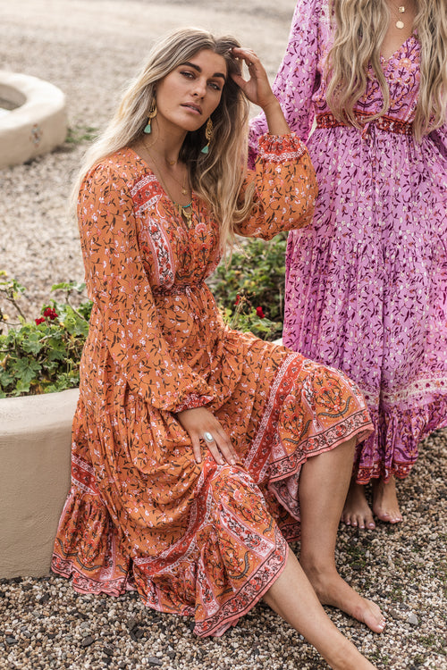 Elke Maxi Dress - Spice