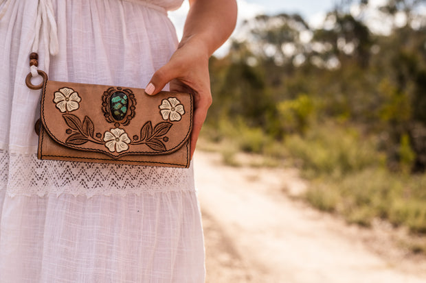 Desert Flower Wallet