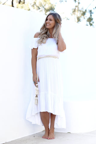 Cheyenne Off the Shoulder Dress