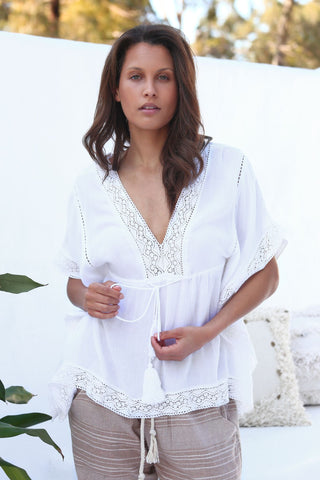 Metis Top - White