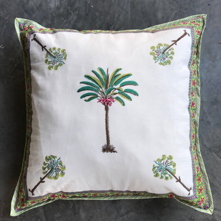 Imperial Palm Cushion Cover