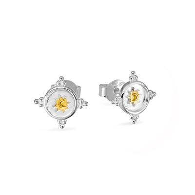 S605GS - Celestial Shield Studs