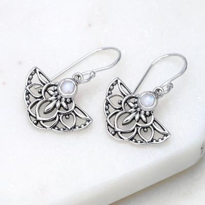 E625RM - Mystique Moonstone Earrings