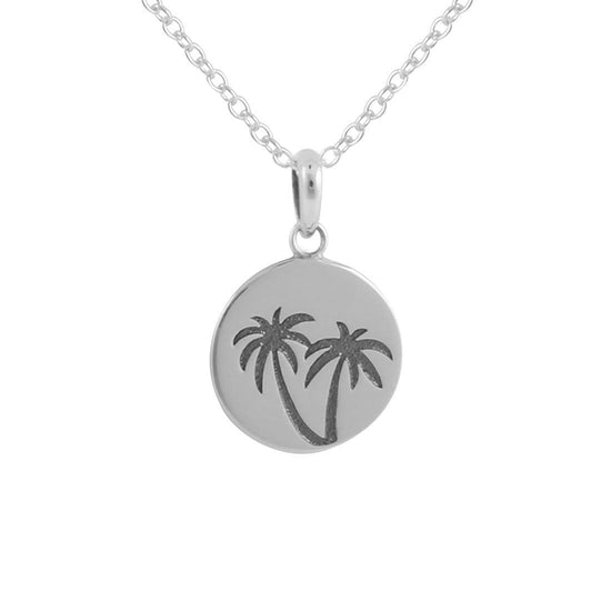 N416 - Miami Medallion Necklace