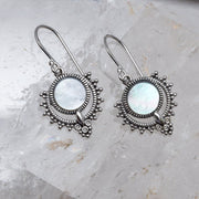 E596MP - Periyar Pearl Earrings