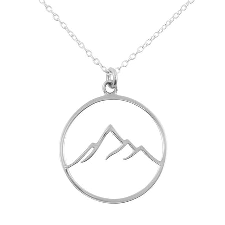 N332 - Mountain Peaks Necklace