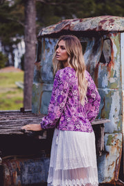 Cleo Blouse - Wildflower