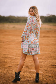 Frankie Mini Dress - Garden Party