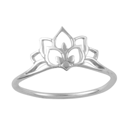 Dainty Lotus Ring