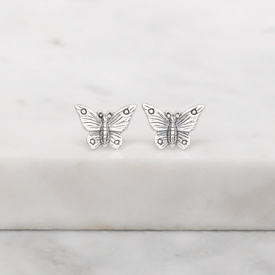 S574 - Butterfly Lovers Studs