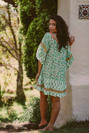 Andy Mini Dress - Emerald