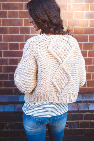 Annie Hand Made Cable Knit