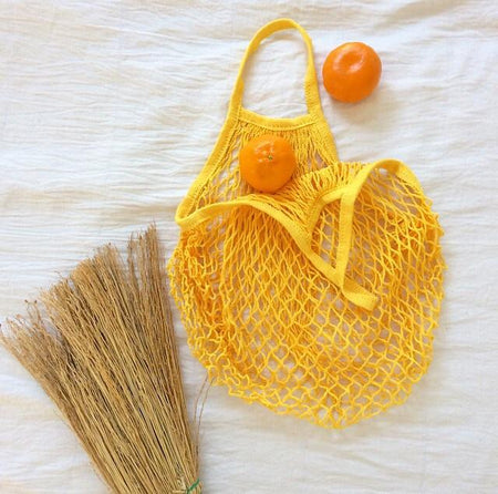 ECO Mesh Tote Bag - Yellow