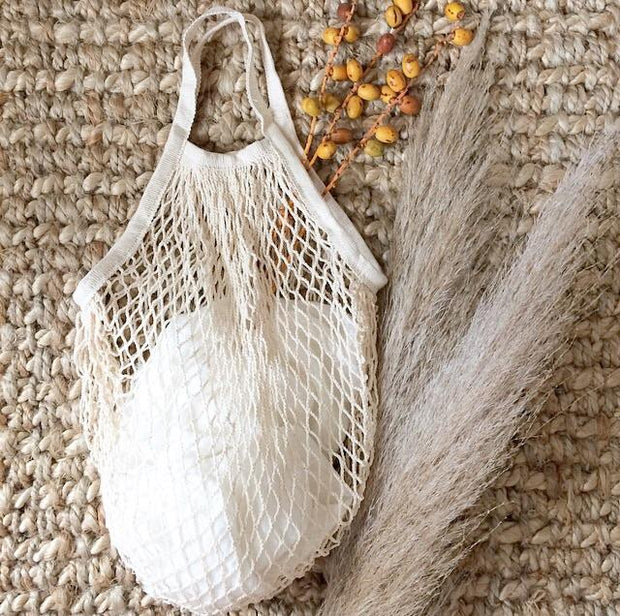 ECO Mesh Tote Bag - Cream