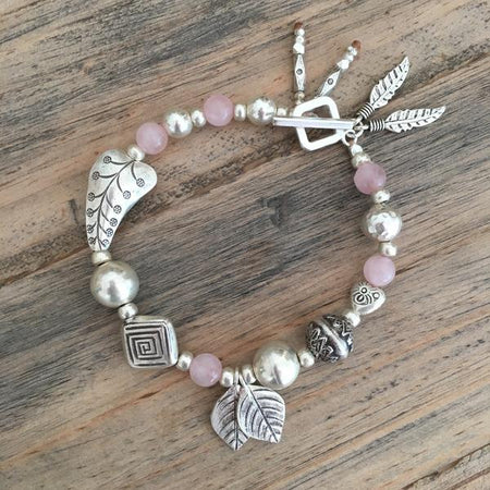 Rose Quartz Beauty Bracelet