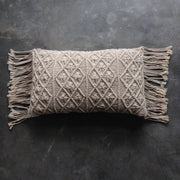 Natural Boho Luxe Cushion Cover - Rectangle