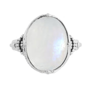R807RM - Frozen Wonderland Moonstone Ring