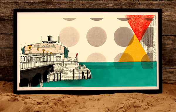 Limited Edition Bournemouth Beach Pier Print