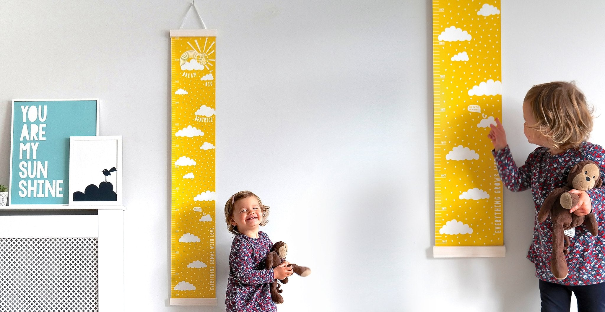 Personalised Canvas Height charts