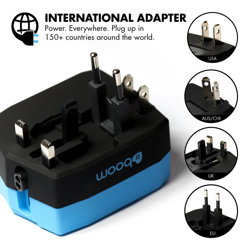 Travel Ultimate Travel Adapter Power Bank Amp Fast Dual