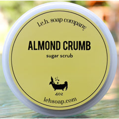 Almond Crumb Sugar Scrub - Sugar Scrubs