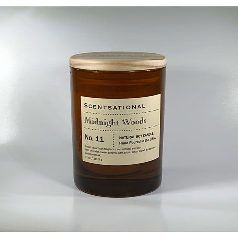 Apothecary Midnight Woods Candle