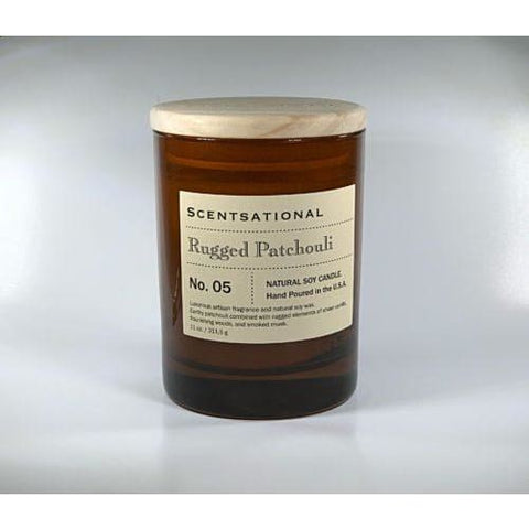 Apothecary Rugged Patchouli Candle