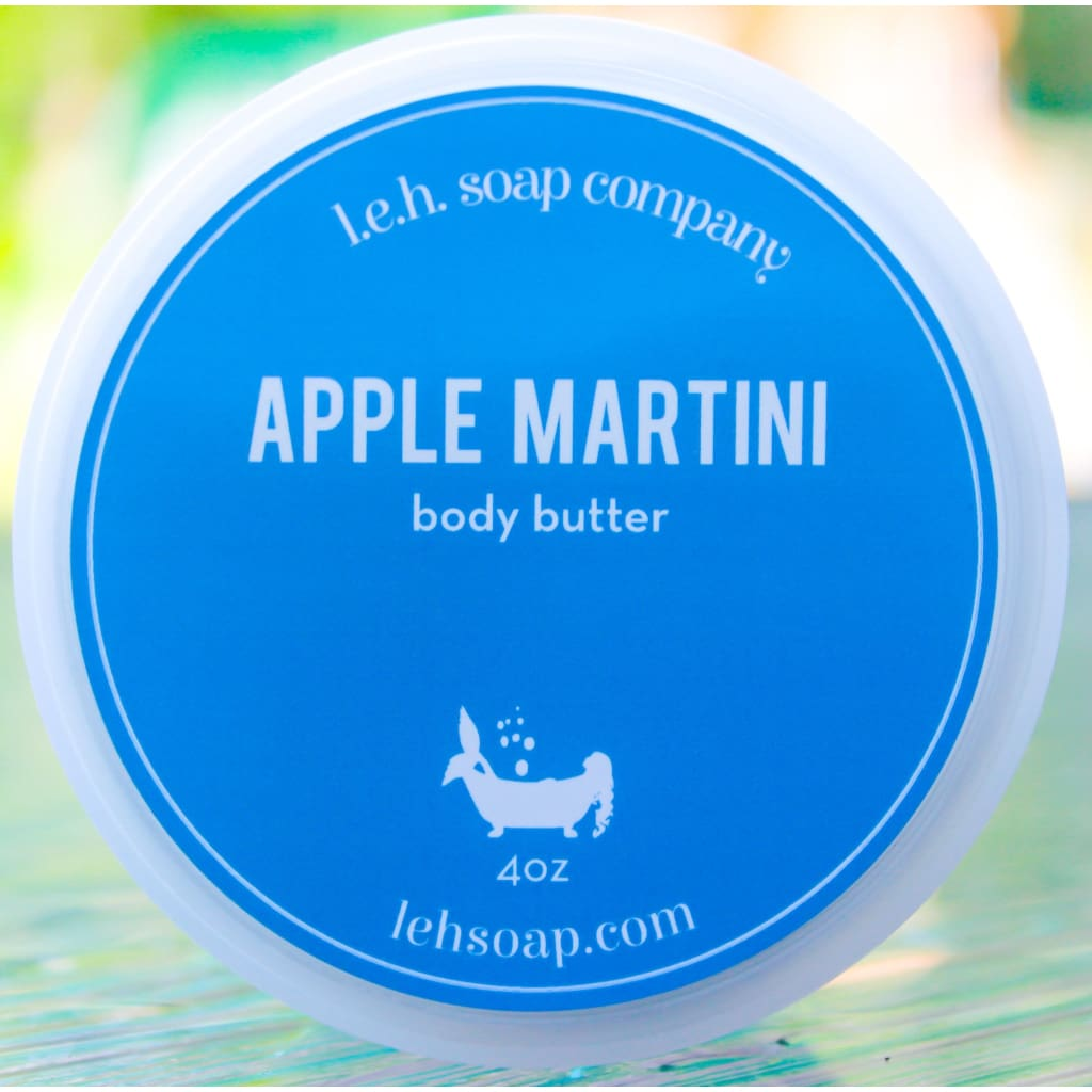 Apple Martini Body Butter - 4 Oz - Body Butters And Moisturizers