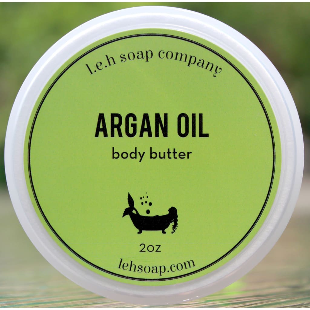 Argan Oil Body Butter - 2 Oz - Argan Oil Products