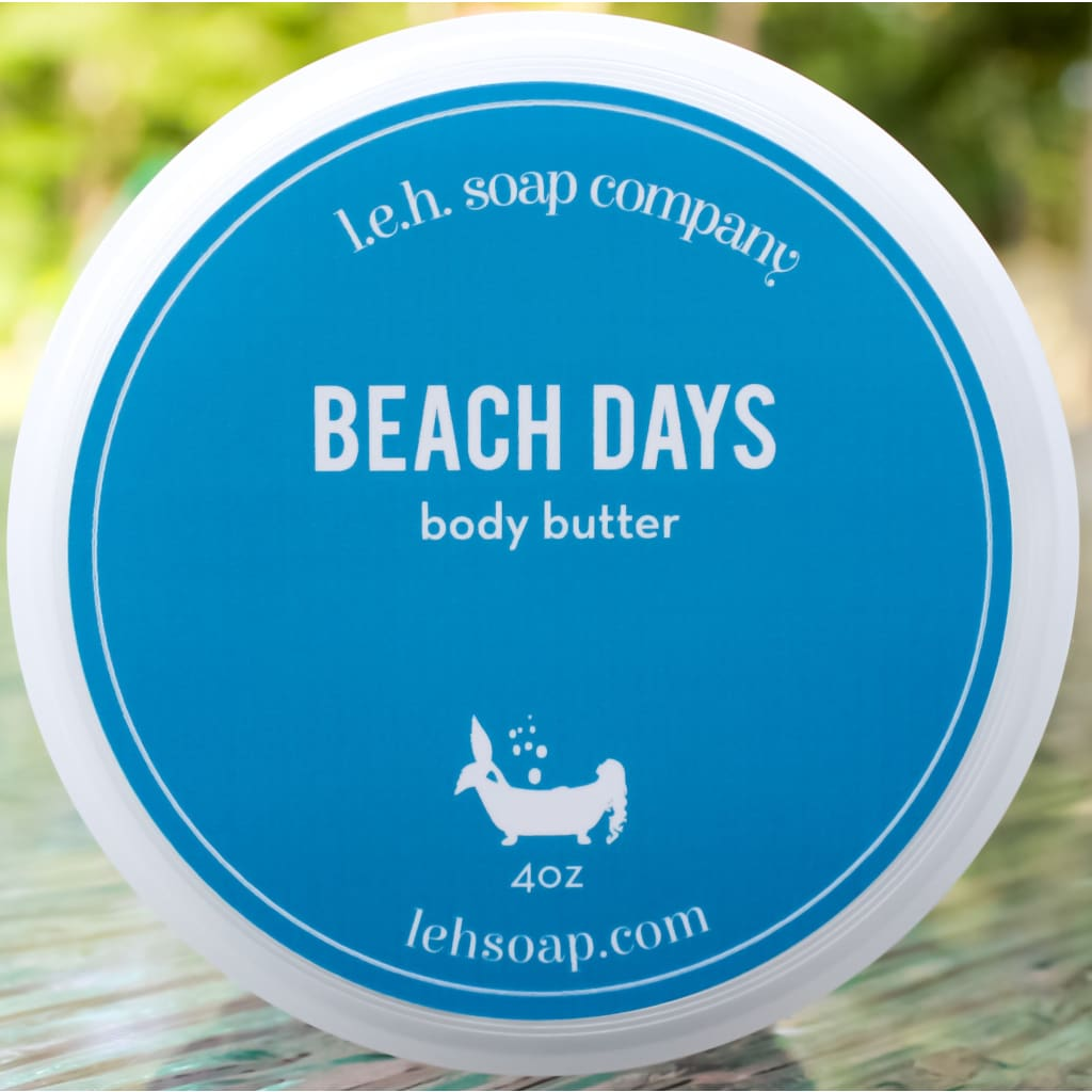 Beach Days Body Butter - 4 Oz - Body Butters And Moisturizers