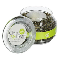 Clear My Head Herbal Inhalation Jar - Natural Remedies
