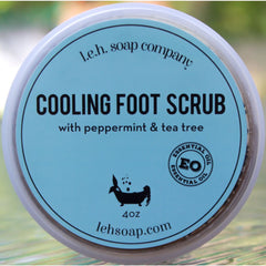 Cooling Foot Scrub - 4 Oz - Foot Care
