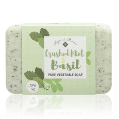 Crushed Mint & Basil - Soap