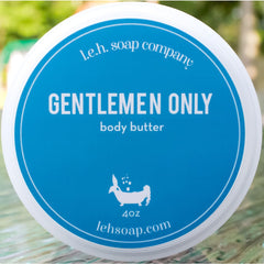 Gentlemen Only Body Butter - Body Butters And Moisturizers