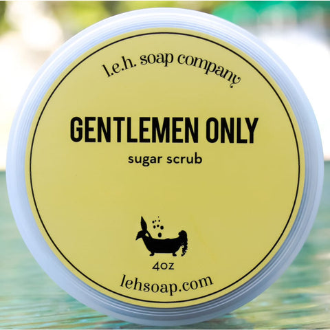 Gentlemen Only Sugar Scrub