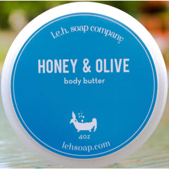 Honey And Olive Body Butter - Body Butters And Moisturizers