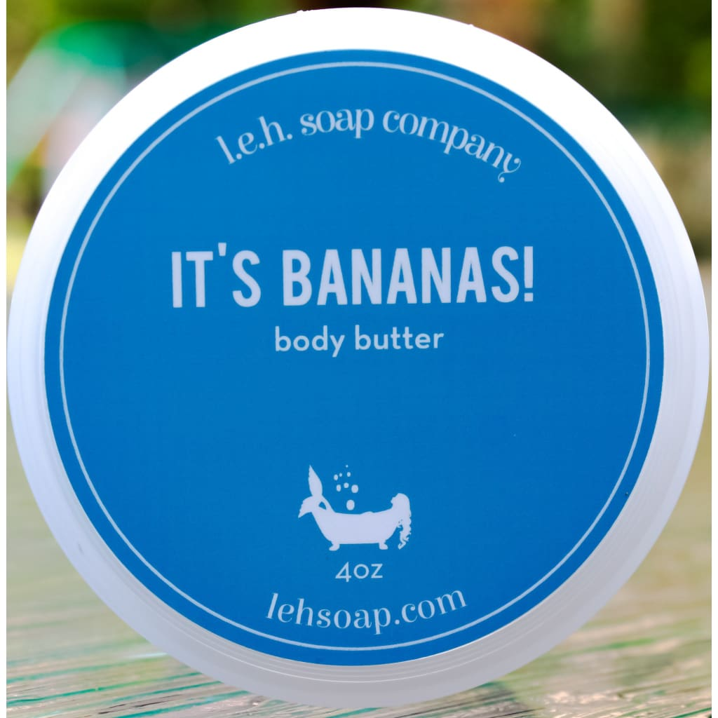 Its Bananas! Body Butter - Body Butters And Moisturizers
