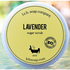 Lavender Sugar Scrub - Body Scrubs