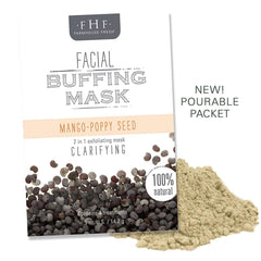 Mango-Poppy Seed Facial Buffing Mask - Facial Mask