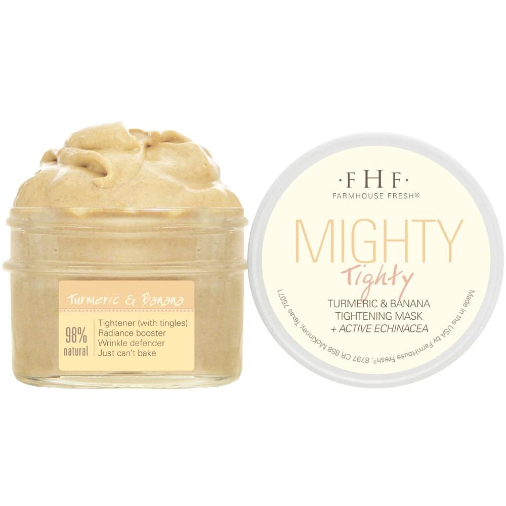 Mighty Tighty Tumeric And Banana Tightening Mask - Facial Mask