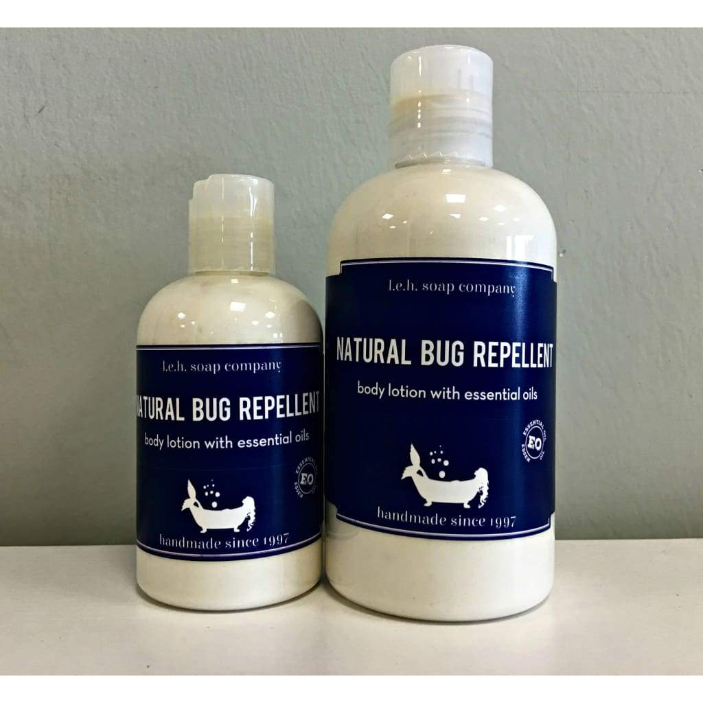 Natural Repellent Lotion and Spray - Natural Remedies