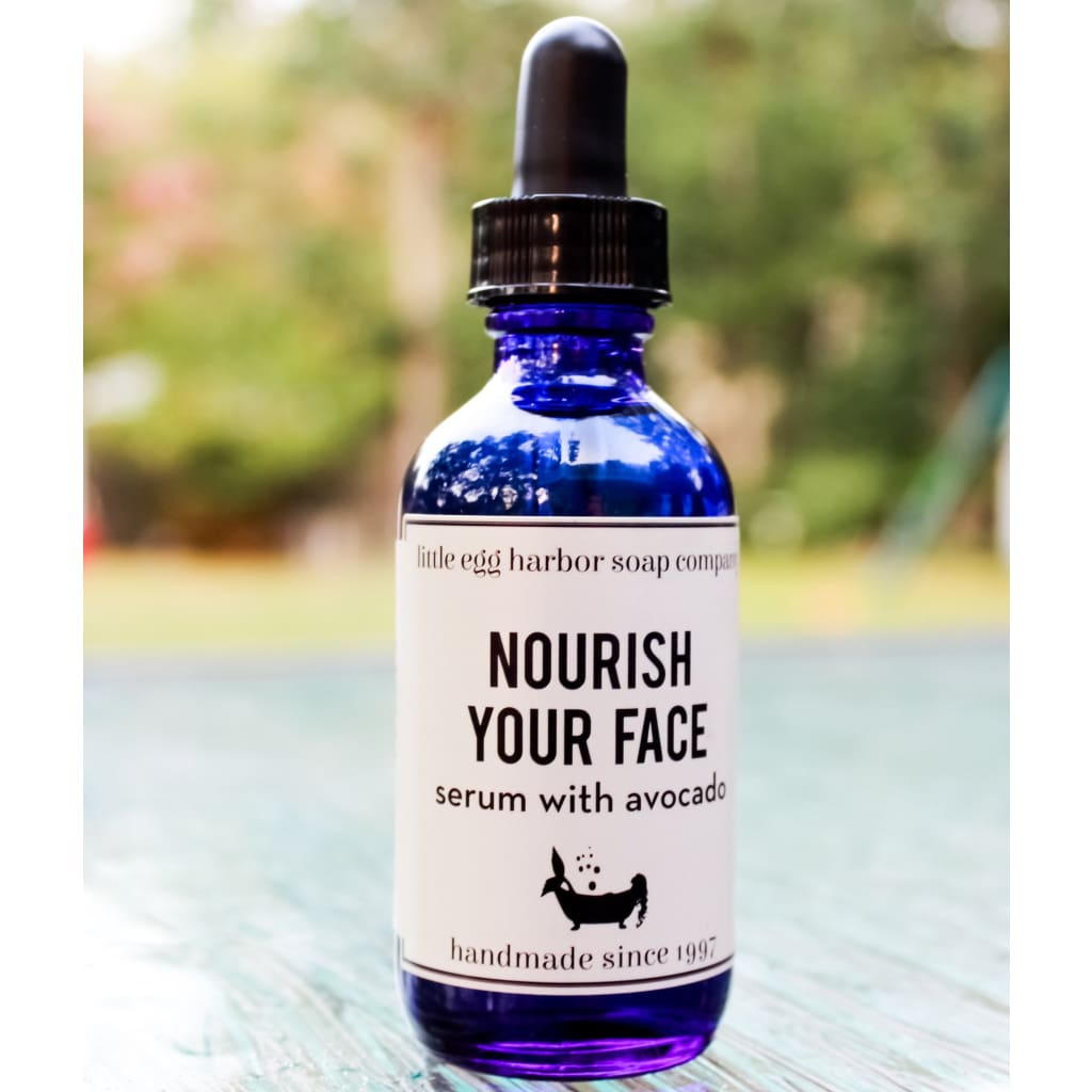 Nourish Your Face Serum - Facial And Lip Care
